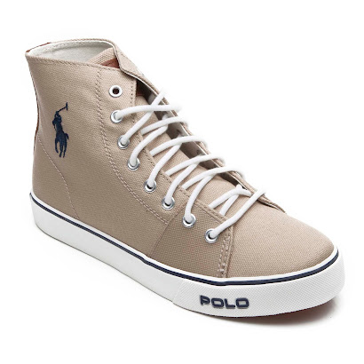 Ralph Lauren Canvas High Top HIGHTOP TRAINER
