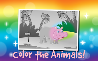 Screenshot of Kids Zoo Animals Scratch 2