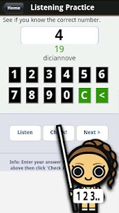 Learn Italian Numbers, Fast! - screenshot
