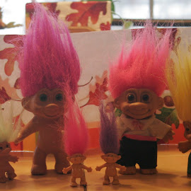 HAPPY THANKSGIVING by Doyle Barnes - Artistic Objects Toys ( dolls, art, toys, trolls,  )