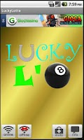 Screenshot of lucky lotto