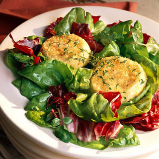 Baked Goat Cheese Salad