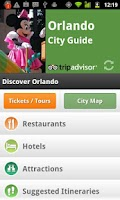 Screenshot of Orlando City Guide