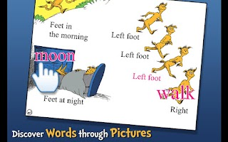 Screenshot of The FOOT Book - Dr. Seuss