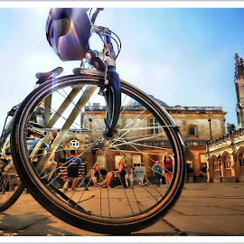 Things I saw today.......... by Quentin Robertson - Transportation Bicycles ( bike, people )