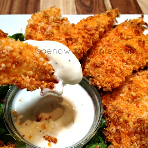 Doritos Crusted Chicken Strips
