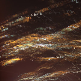 City lights by Ami Johnson - Abstract Light Painting ( skyline, city lights, aerial, painting, city )