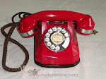Desk Phones - Automatic Electric 40 Red