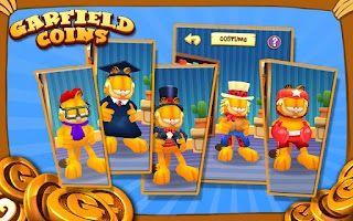 Screenshot of Garfield Coins