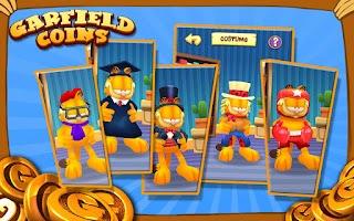Screenshot of Garfield Coins