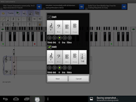 Screenshot of Midi instruments lite Composer