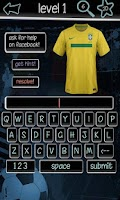 Screenshot of Football Kits Quiz