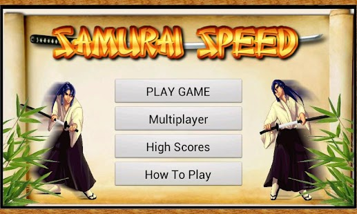 Samurai Speed - screenshot