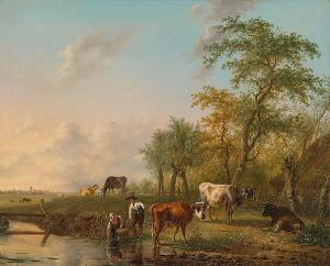 RIJKS: Jan Kobell (II): painting 1804