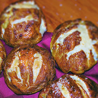 Laugenbroetchen (German Pretzel Rolls)