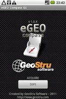 Screenshot of eGEO Compass GS by GeoStru