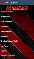Screenshot of Equipment Parts Diagrams