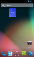 Screenshot of Alternate Day Fasting Widget