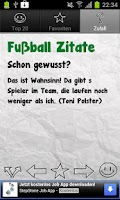 Screenshot of Football Quotes Deluxe