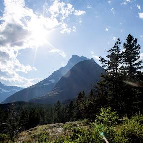 Peeking through the Peaks  by Denver Pratt - Landscapes Mountains & Hills (  )