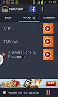 Screenshot of Paranormal Talk Radio