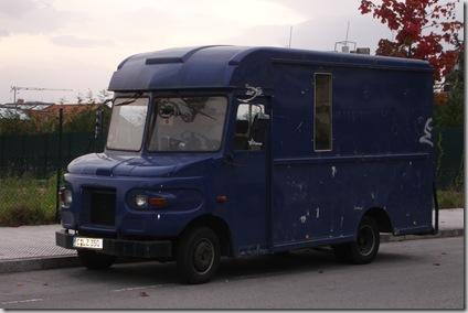 El vehículo de los secuestradores