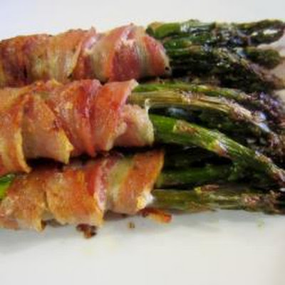 Roast Asparagus And Bacon