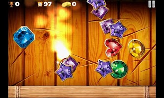 Screenshot of Ninja vs Jewels