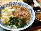 【渋谷ランチ】肉うどん定食(高松)