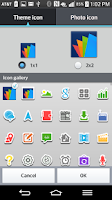 Screenshot of LGHome/MultiLauncher Stickers