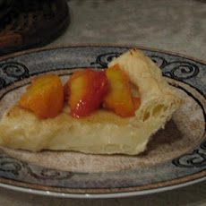 South African Melktert or Milk Tart (Custard Pie)