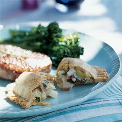 Bacon, Potato, and Leek Turnovers