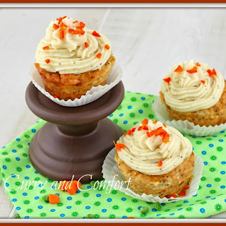 April Fool's Day Meatloaf and Mashed Potato Cupcakes