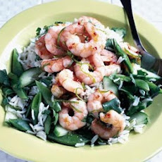 Coconut Rice & Prawn Salad