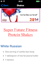 Screenshot of Super Future Fitness