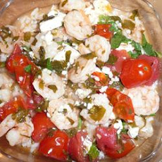 Greek Shrimp Dish From Santorini