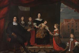RIJKS: attributed to Cornelis de Man: painting 1680