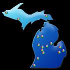 Michigan Fishing Maps - 14K icon