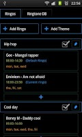 Screenshot of Ma Ringo - Ringtone scheduler