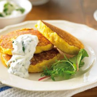 Super-healthy Sweet Corn Fritters
