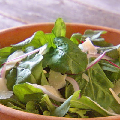 Arugula Salad with Shaved Parmesan