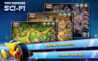 Screenshot of Toy Defense 4: Sci-Fi Free