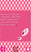 Screenshot of Love Quotes to Chat