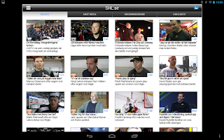 Screenshot of SHL