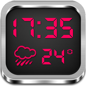 Night Clock Weather Widget