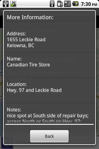 Sanidumps RV Dump Station - screenshot