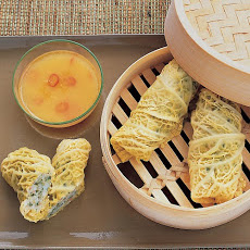 Shrimp Rolls with Citrus-Ginger Dipping Sauce