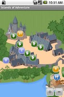 Screenshot of Florida Theme Park Maps