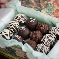 Cookie Dough Truffles with Sea Salt