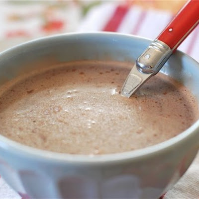 Creamy Peppermint Hot Chocolate
